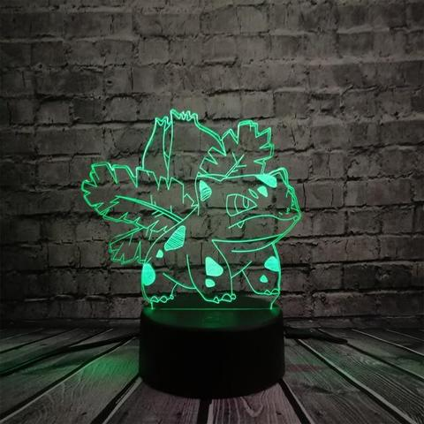Pokemon Lamp Ivysaur