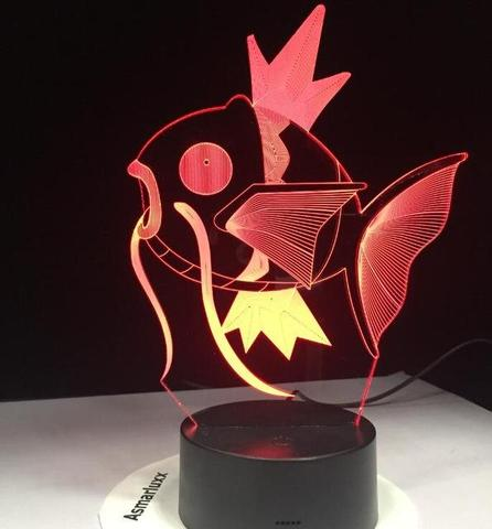 Pokemon Lamp Magikarp