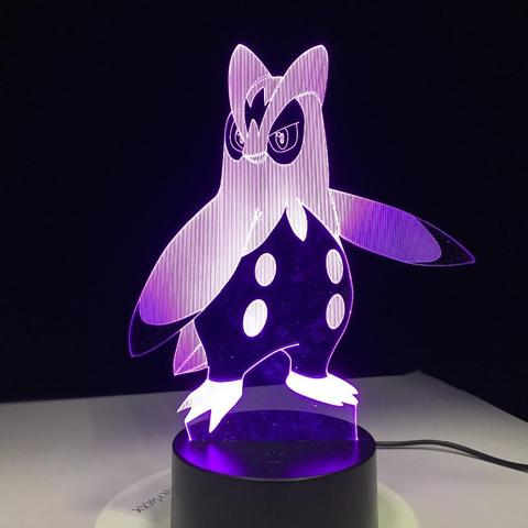 Pokemon Lamp Prinplup
