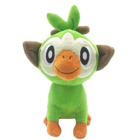 pokemon grookey plush front view
