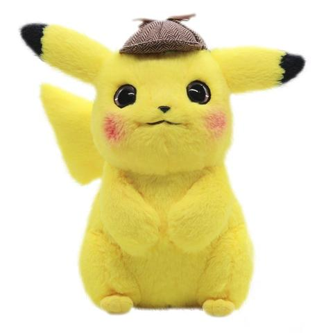 Pokemon detective pikachu plush front view