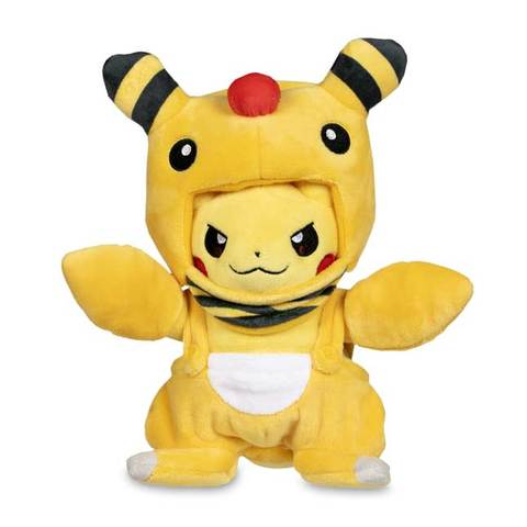 Pokemon plush Pikachu in Ampharos