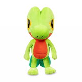 Treecko plush on the front view