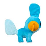 Mudkip plush toy on the side