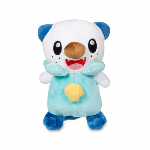 Oshawott pokemon plush front view