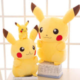 family pikachu plush