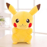 Pikachu plush smiling