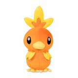 torchic pokemon plush on its front view