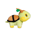 Turtwig plush on the side