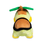 Pokemon turtwig plush on the back point of view