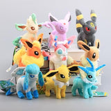 Eevee family plush collection