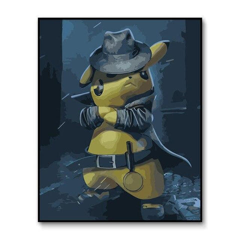 Pokemon poster <br> Adventurer Pikachu | Pokemon Faction