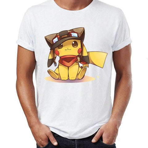 Pokemon shirt Pikachu adventurer