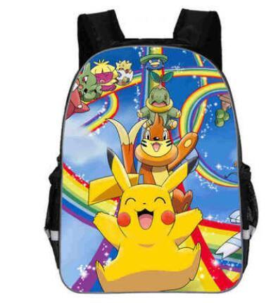 Pikachu school backpack