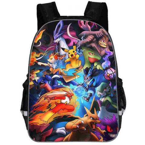 Pokemon backpack  Arena fight