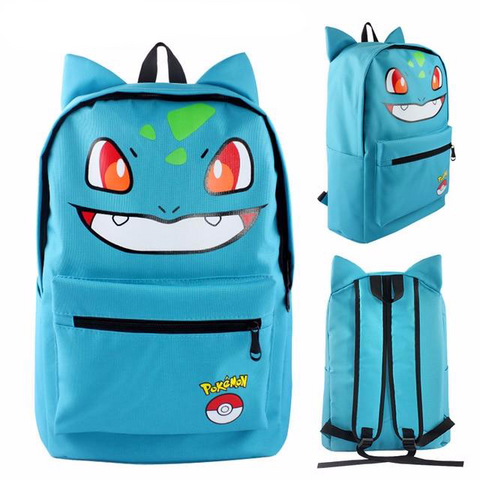 Pokemon bulbasaur backpack