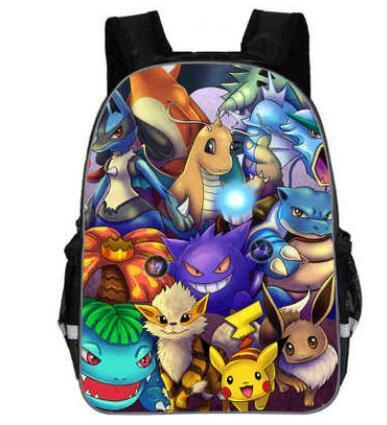 Pokemon backpack Fan Art