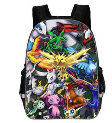 Pokemon backpack legendary pokemon
