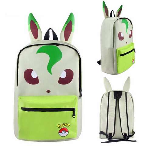 Pokemon backpack <br> Leafeon | Pokemon Faction