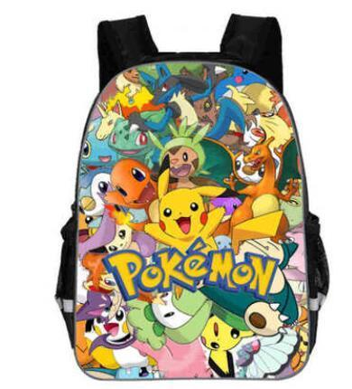 Pokemon backpack Pikachu Go