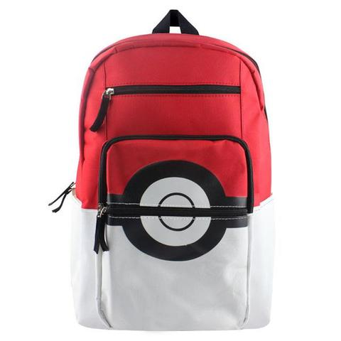 Pokemon backpack pokeball