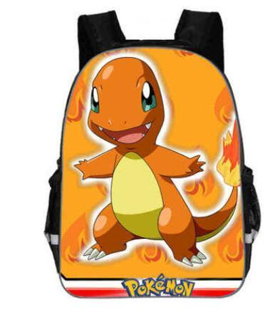 Pokemon charmander backpack