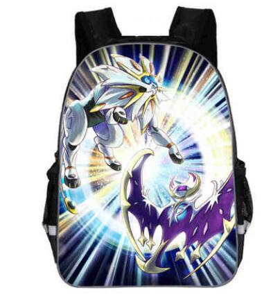 Pokemon backpack Solgaleo & Lunala