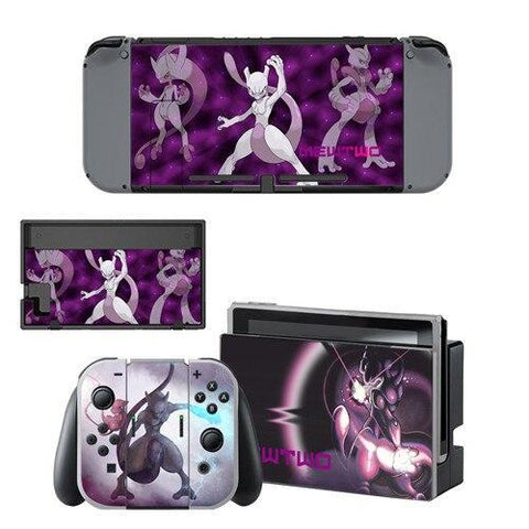 Pokemon stickers <br> Mewtwo Nintendo Switch | Pokemon Faction