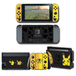 Pokemon stickers Pikachu Eevee Nintendo Switch