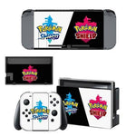 Pokemon stickers Sword Shield Nintendo Switch