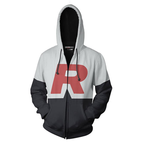 Pokemon team rocket hoodie