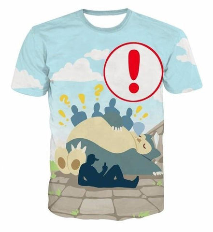 snorlax mens shirt