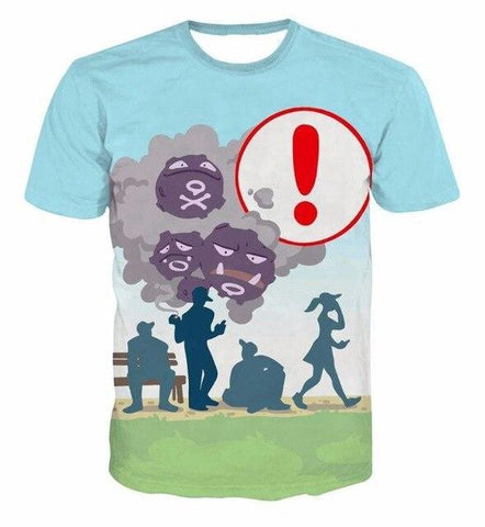 Weezing shirt