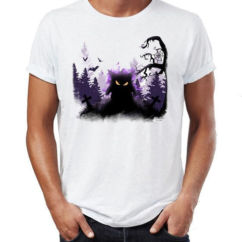 Pokemon gengar t-shirt