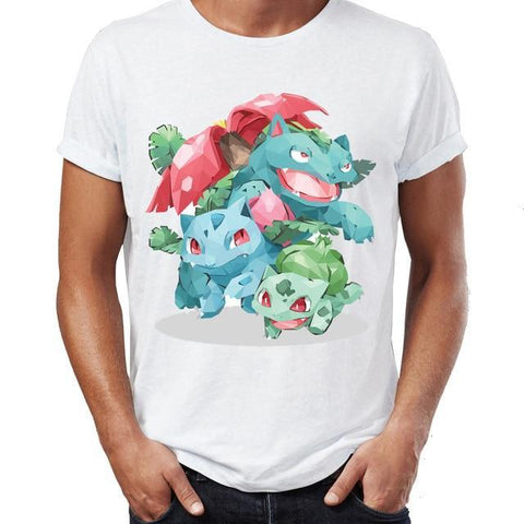 Pokemon shirt of Bulbasaur Family and all the evolutions
