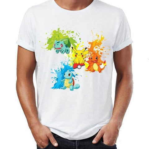 Pokemon starter shirt