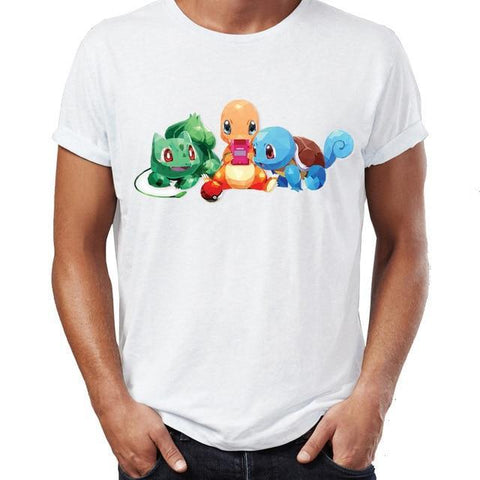 Pokemon shirt Game Boy Starters