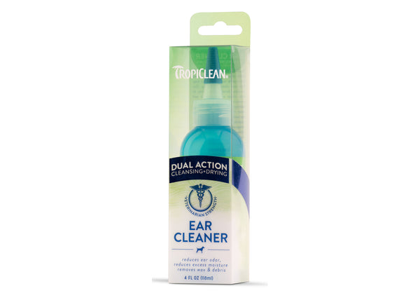 Tropiclean Dual Action Ear Cleaner 118ml