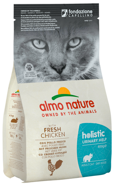 Almo Nature Holistic Chats Adultes Urinary - Poulet