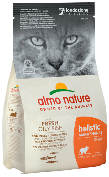 Almo Nature Holistic Chats Adultes - Poissons gras