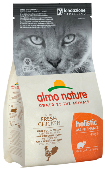 Almo Nature Holistic Chats Adultes - Poulet