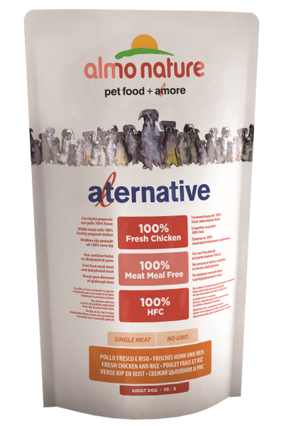 Almo Nature HFC Alternative Chiens M-L - Poulet et Riz