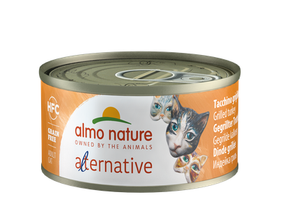 Almo Nature HFC Alternative Chats - boîte - dinde grillé (70 gr)