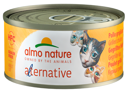 Almo Nature HFC Alternative Chats - boîte - poulet grillé (70 gr)