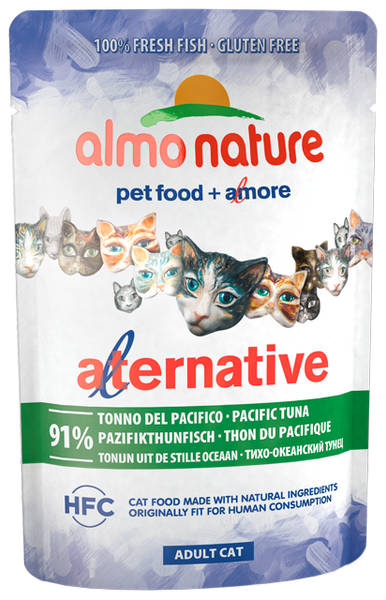 Almo Nature HFC Alternative Chats - pochette - thon du Pacifique (55 gr)