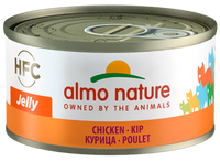 Almo Nature HFC Jelly Chats - boîte - poulet (70 gr)