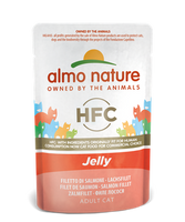 Almo Nature HFC Jelly Chats - pochette - saumon (55 gr)
