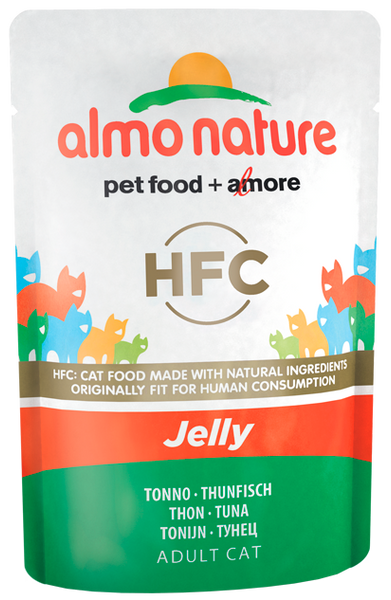 Almo Nature HFC Jelly Chats - pochette - thon (55 gr)