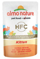 Almo Nature HFC Natural Chatons - pochette - poulet (55 gr)