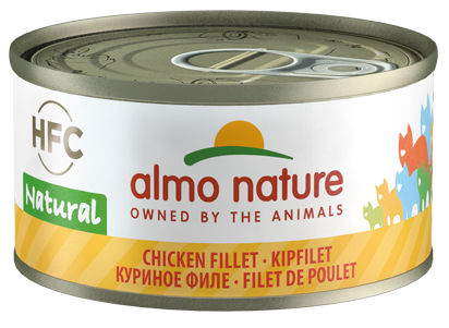 Almo Nature HFC Natural Chats - boîte - poulet (70 gr)